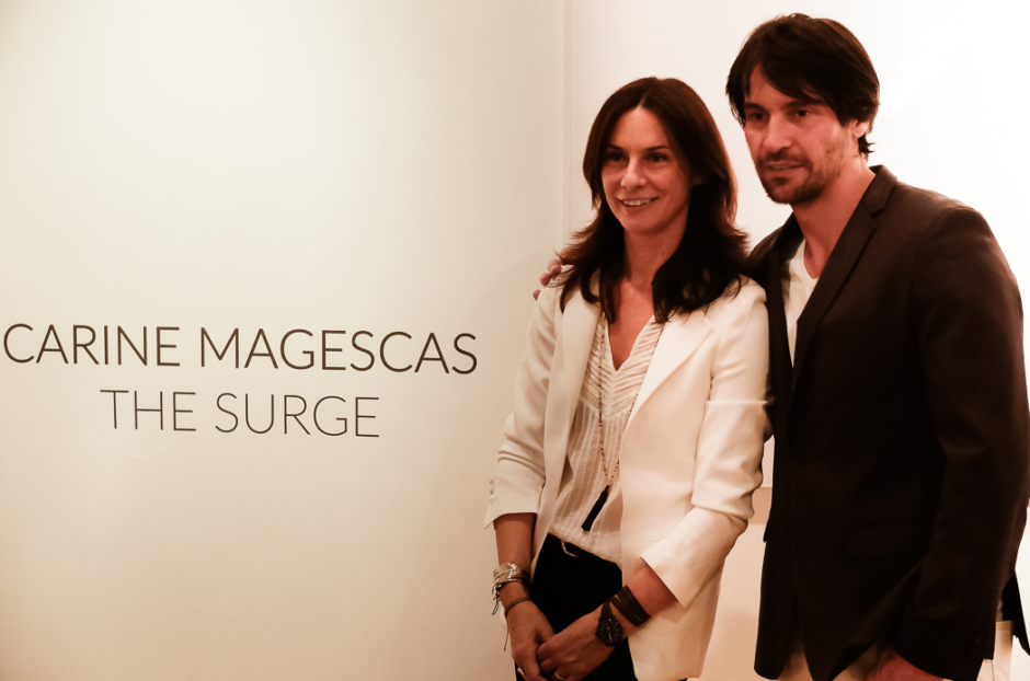 """Carine Magescas @ """"The Surge"""" Opening Reception"""